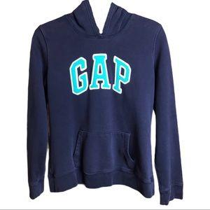 Gap Y2K Logo Hopdie With Kangaroo Pocket